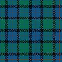 flower of scotland tartan pattern