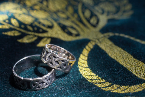 celtic knot rings trends in wedding bands