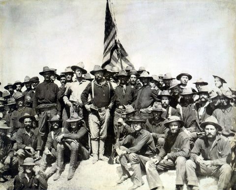 american soldiers during spanish american war