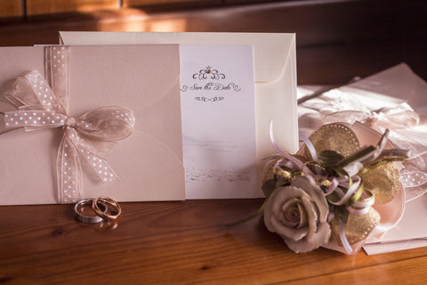 budget for wedding stationery