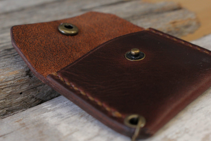 Leather Goods - Leather Ring Wallet