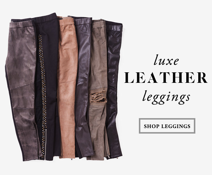Luxe Leather Leggings from AS by DF
