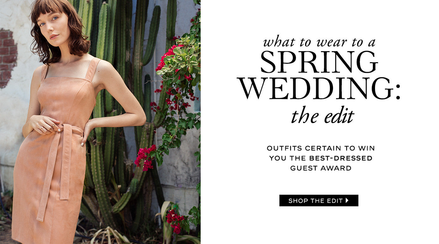 Spring Wedding the edit