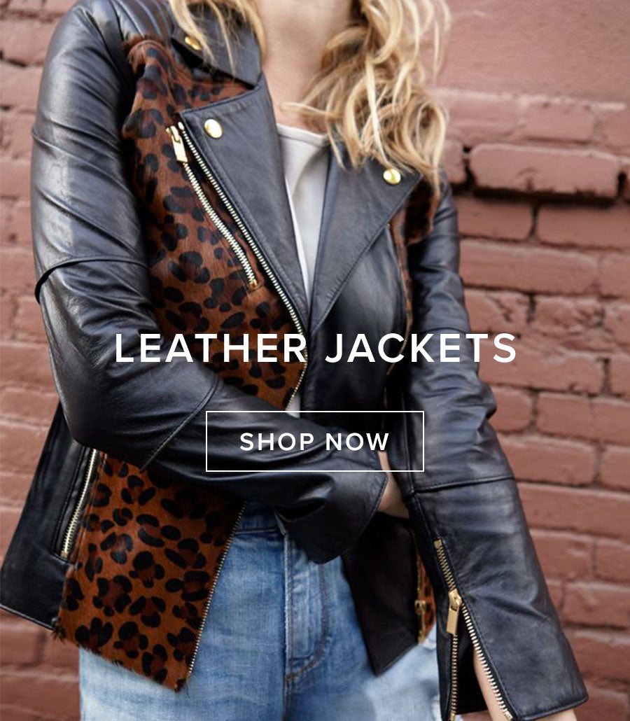 Leather Jackets | Shop Now