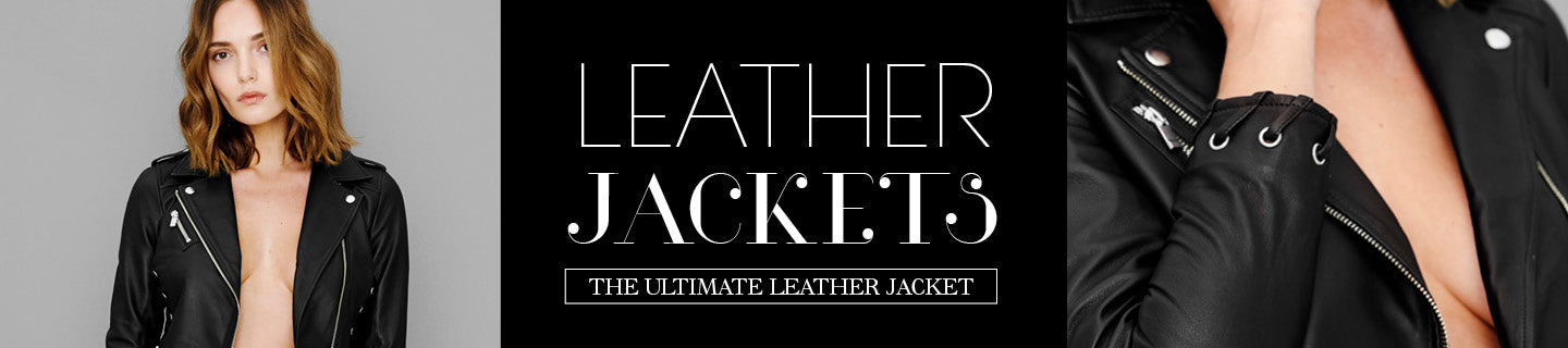 AS by DF Leather Jackets | The PERFECT Leather Jacket, Period.