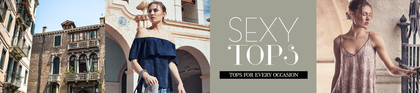 AS by DF Tops | TOP OF THE CLASS