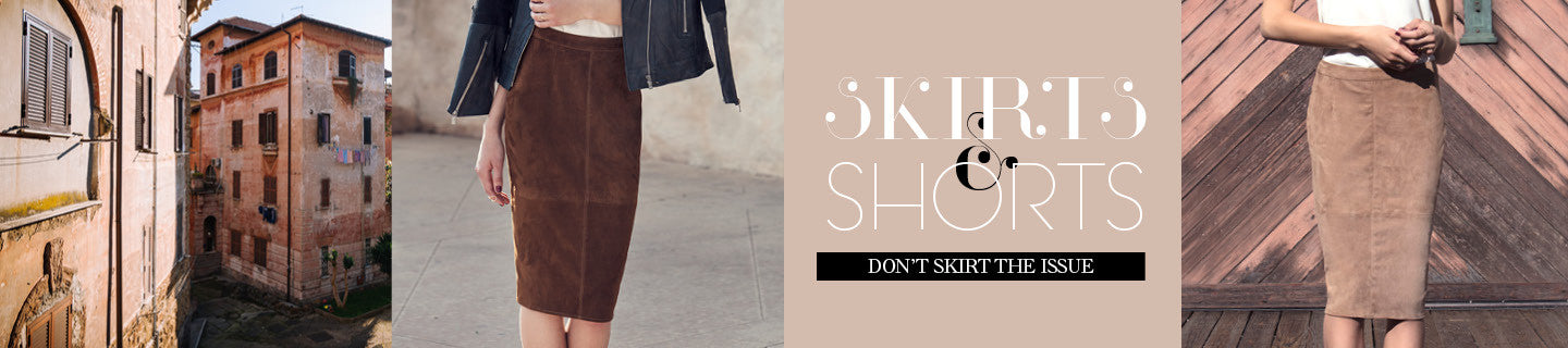 AS by DF Skirts & Shorts | DON'T SKIRT THE ISSUE