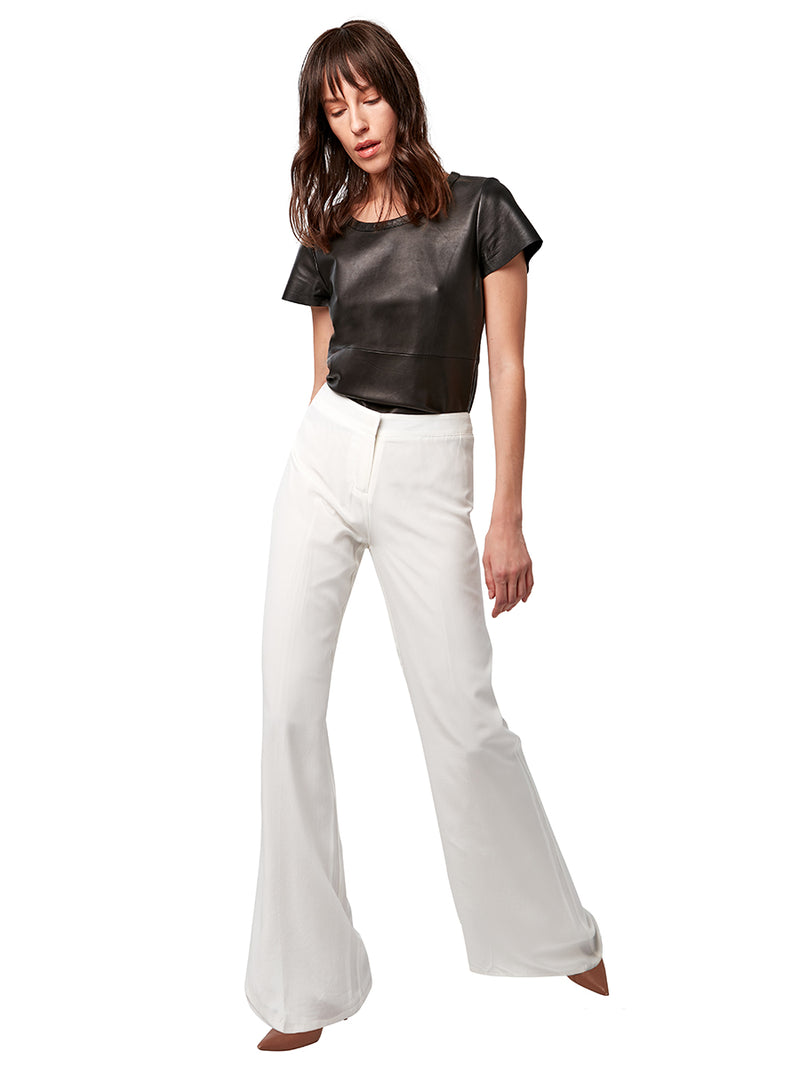 CECILE SILK TROUSERS