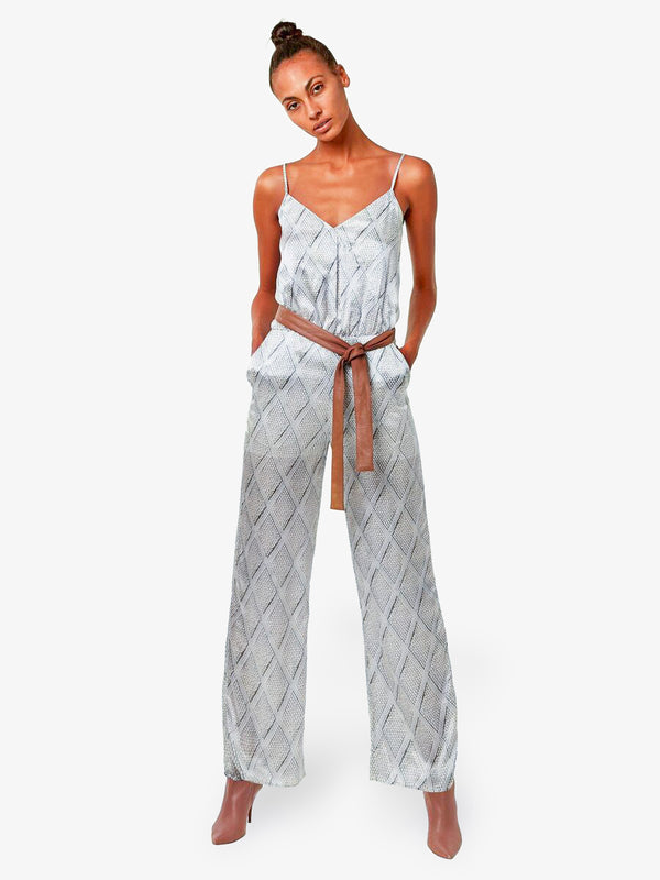 AVERY SILK JUMPSUIT