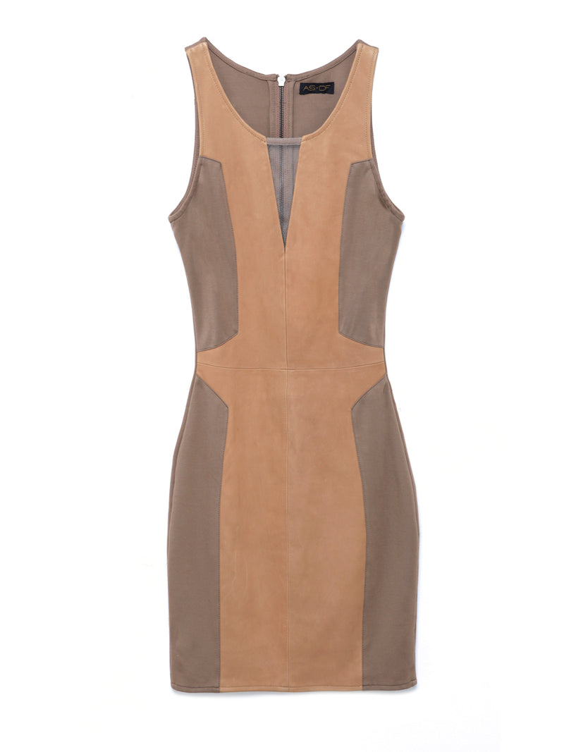 OTIS LEATHER DRESS