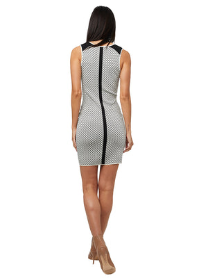 STRAIGHT EDGE KNIT DRESS