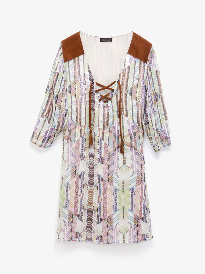 CARAVAN GYPSY TUNIC DRESS