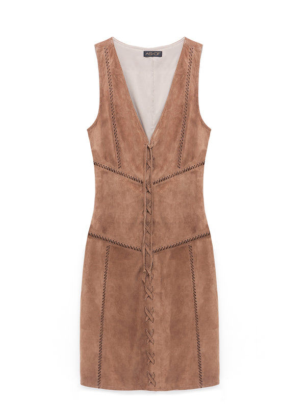 JONI SUEDE DRESS