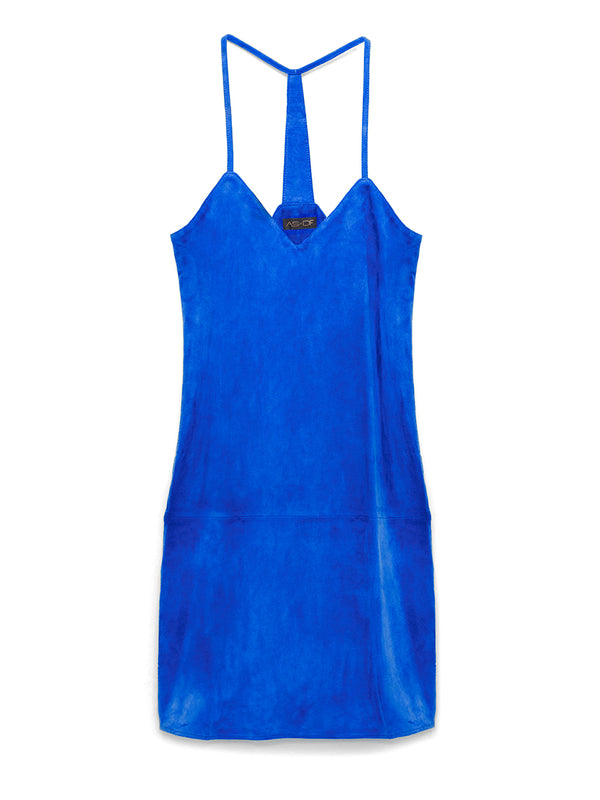 Brentwood Suede Slip Dress