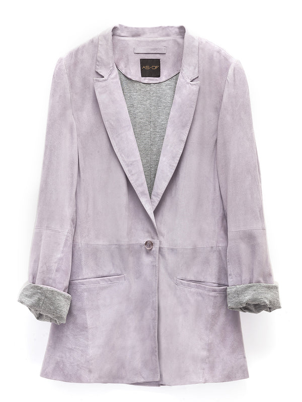 It Girl Suede Blazer