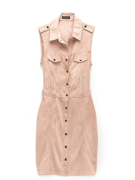 Officer Suede Dress