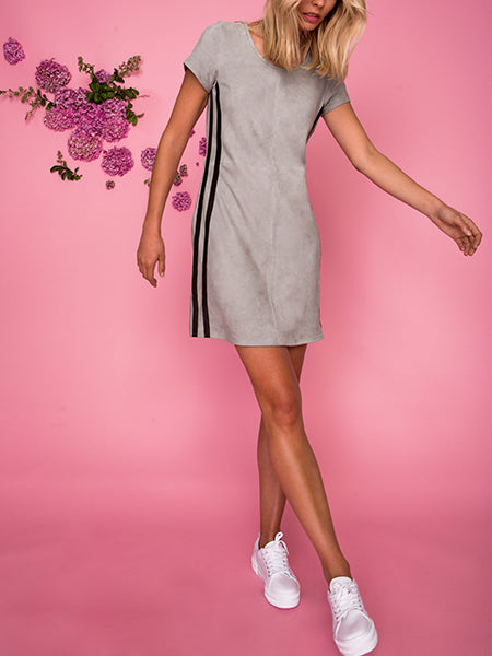 Jogger Suede Dress