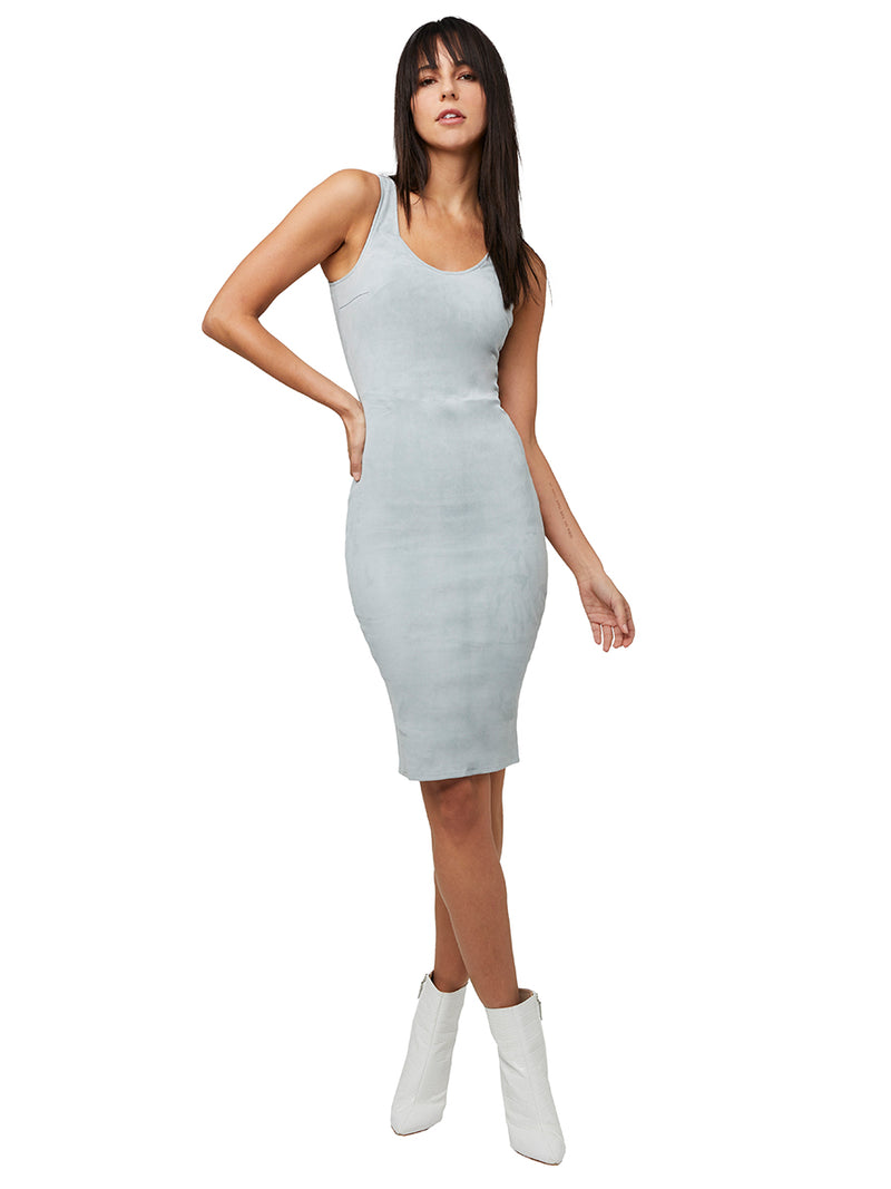 Miss Maverick Stretch Suede Dress