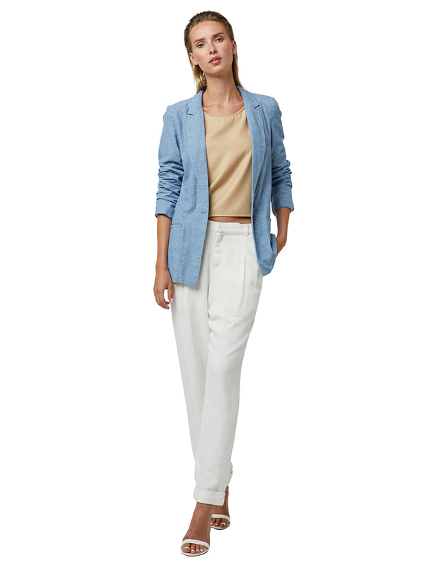 IT GIRL ROLL SLEEVE BLAZER