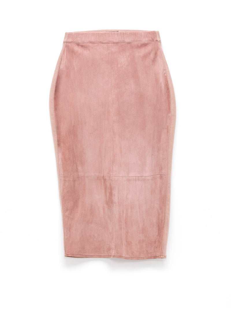 Port Elizabeth Suede Skirt