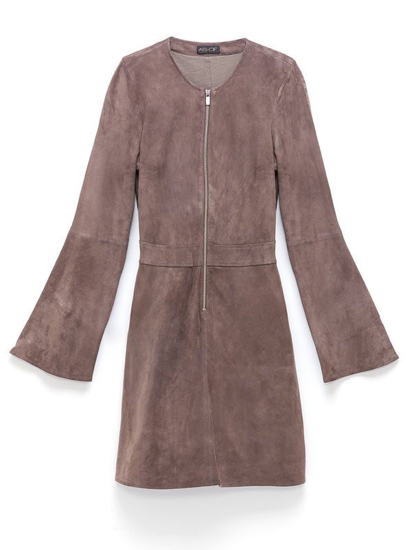 Miss James Suede Dress