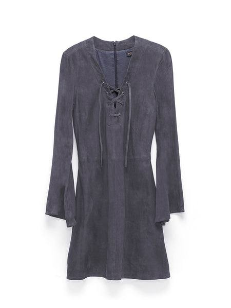 CANYON CHILD SUEDE DRESS