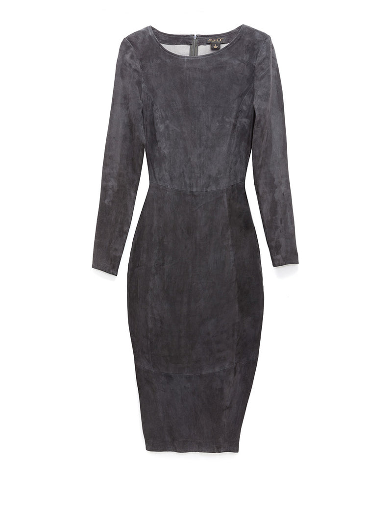 MRS SMITH STRETCH SUEDE DRESS