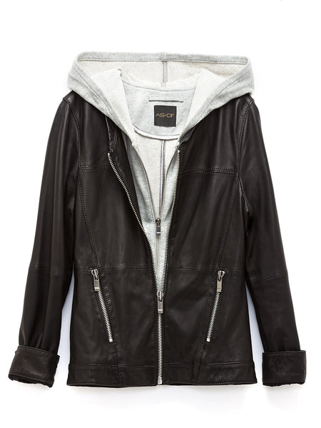 New Guard Layered Leather Jacket