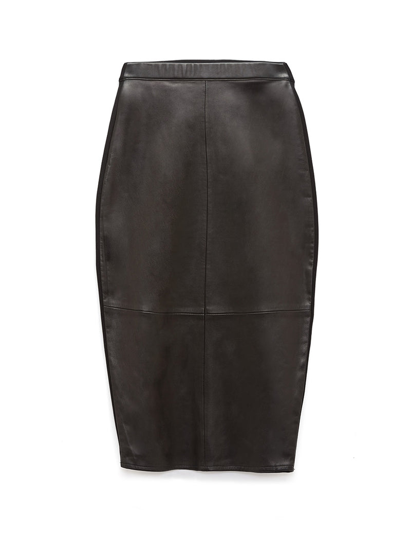PORT ELIZABETH LEATHER SKIRT