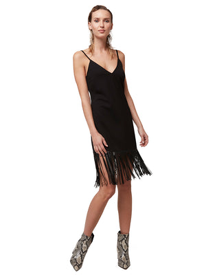 SLIM CITY FRINGE DRESS