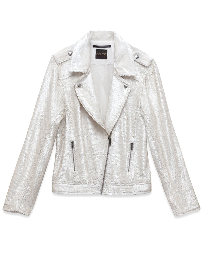 Cult Sequin Moto Jacket