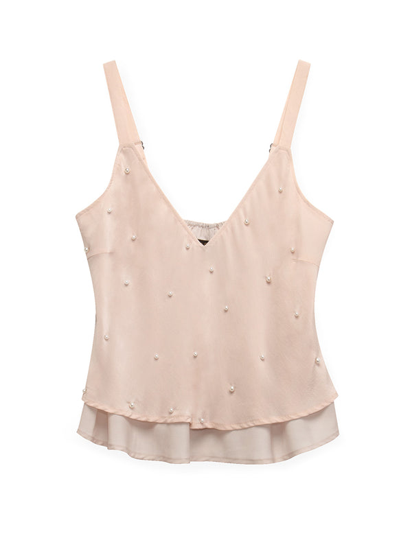 FAR & AWAY SILK CAMI