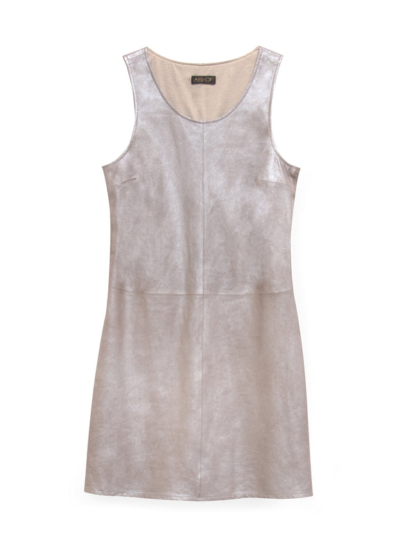 La Mer Suede Shift Dress