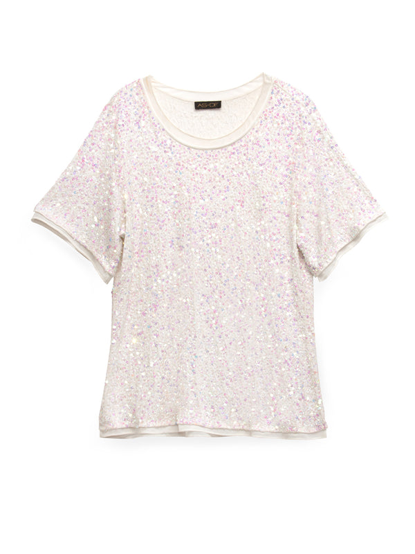 SUNRISE SEQUIN TOP