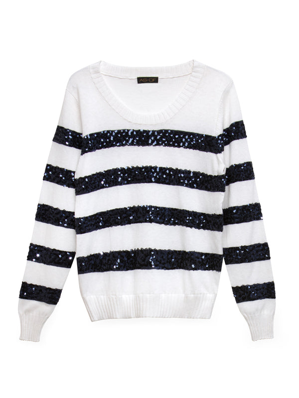 Cherie Stripe Sweater