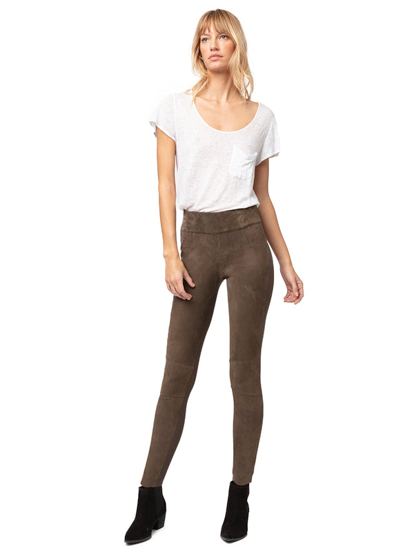 Gigi Suede Leggings