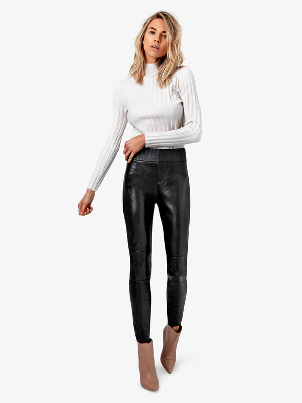 GIGI LEATHER LEGGINGS