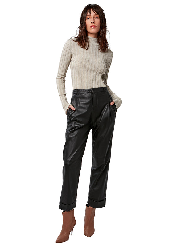 BIANCA LEATHER TROUSERS