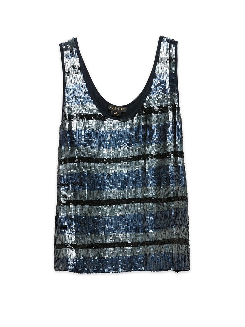 The Rugby Sequin Tank