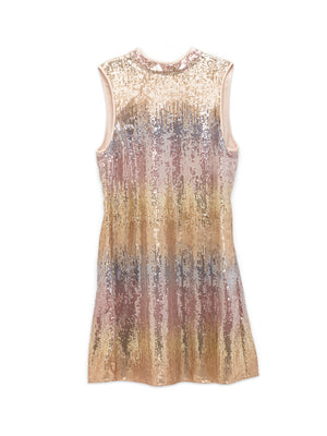STARDUST SEQUIN SHIFT DRESS