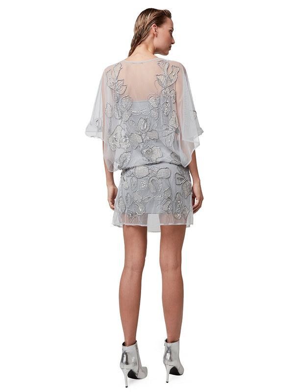 ATHENA SHEER BEADED DRESS