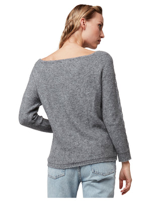 GOLDEN GATE OFF THE SHOULDER SWEATER