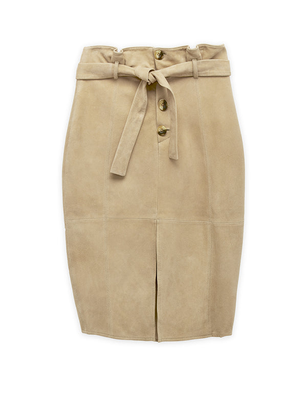 VANGUARD SUEDE SKIRT