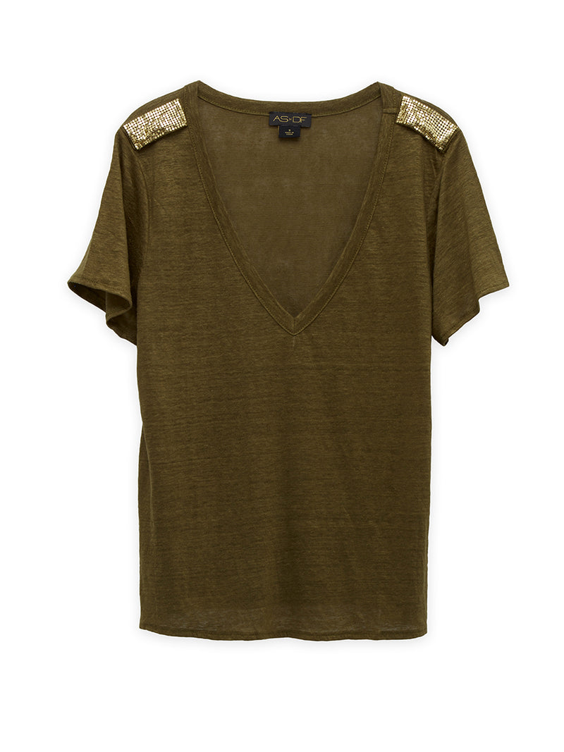 BULLETPROOF V-NECK