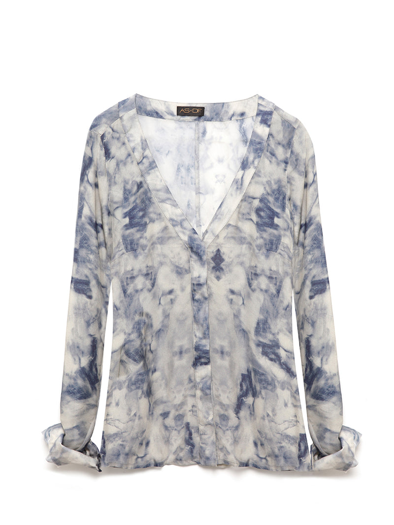AVERY SILK BLOUSE