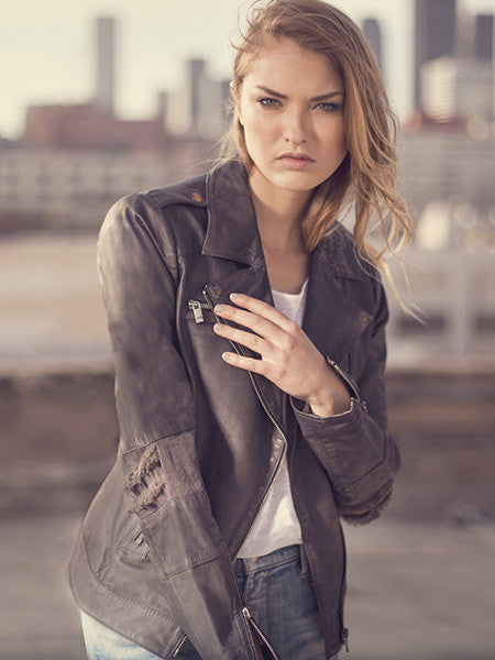 BERLIN BIKER LEATHER JACKET