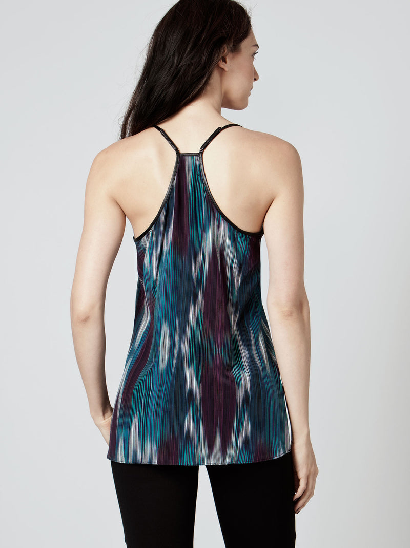 BLACK NIGHTS SILK CAMI