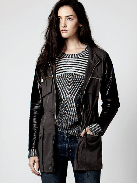 CRYSTAL SHIP MILITARY JACKET