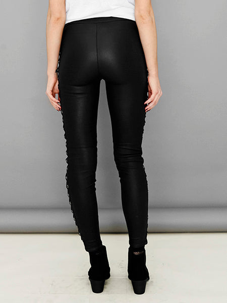 DITA STRETCH LEATHER LEGGINGS