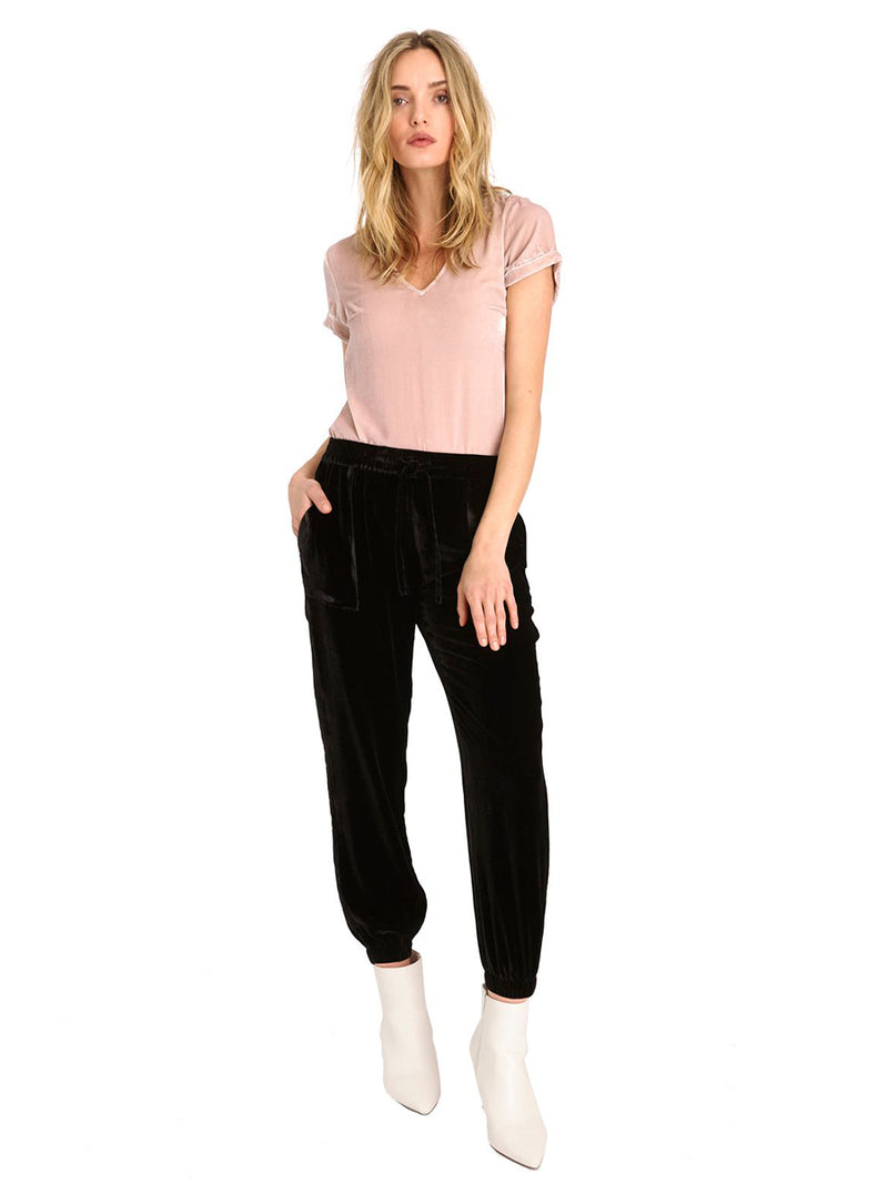 LUXE VELVET CRUISER PANTS